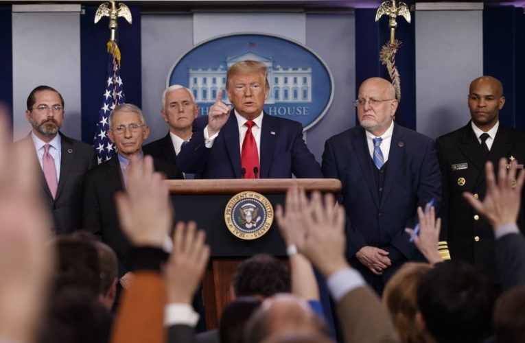 U.S. health experts' alarm grew as Trump played down coronavirus