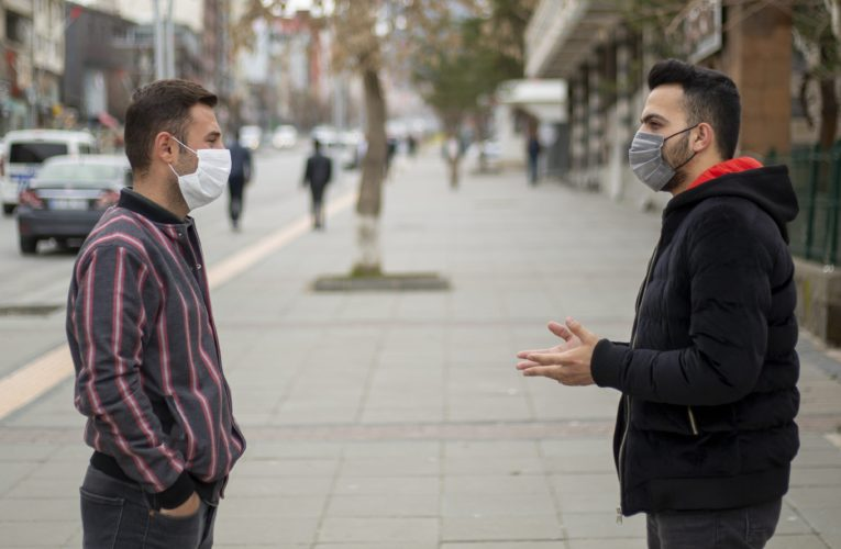 Wearing a mask may reduce how sick you get from coronavirus