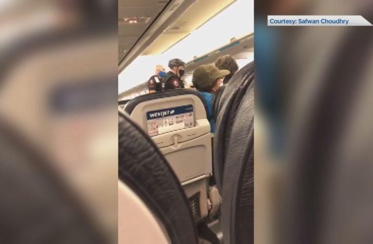 WestJet flight from Calgary to Toronto grounded over mandatory mask dispute involving children