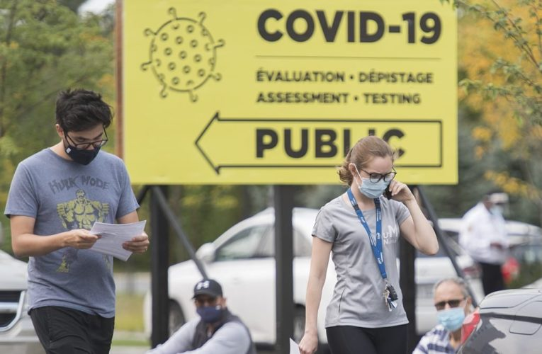 Canada shatters daily case record with over 3,400 more coronavirus infections