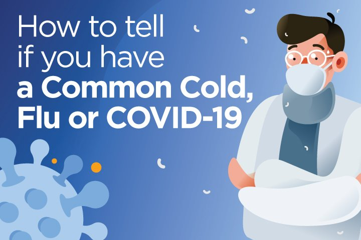 Coronavirus, the flu or the common cold? Here's what to know