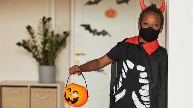 Families celebrate Halloween with restrictions in place amid coronavirus