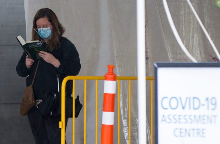 Ontario reports 826 new coronavirus cases, 9 more deaths