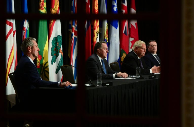 Premiers seeking billions more for health care ask Trudeau to set meeting