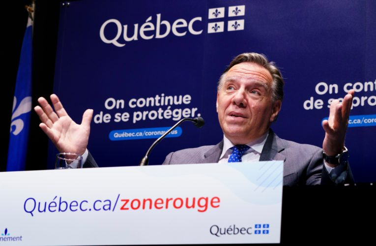 Quebec places more regions in coronavirus red zones as province reports 815 new cases