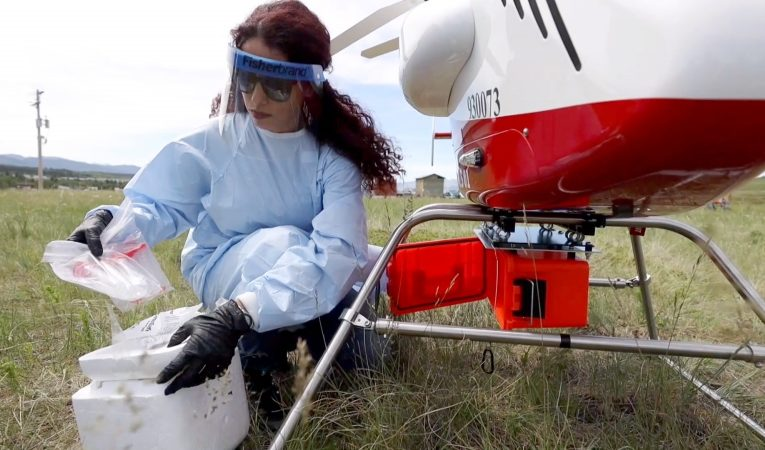 Researchers look at drones to deliver medical supplies to remote communities