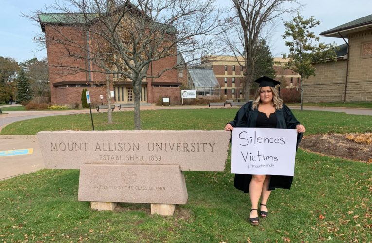 Mount Allison student speaks out against university sexual violence conduct