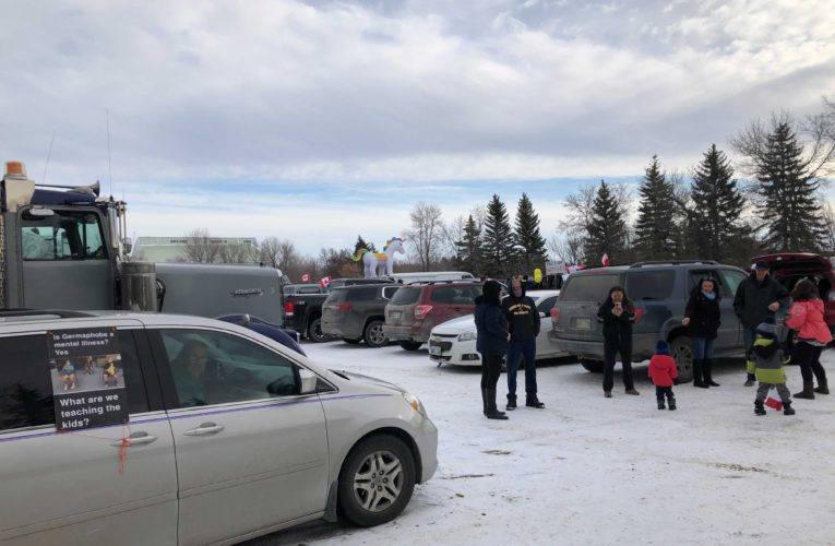 'This is not the heart of Steinbach': Mayor rails against out-of-town anti-mask rally organizers