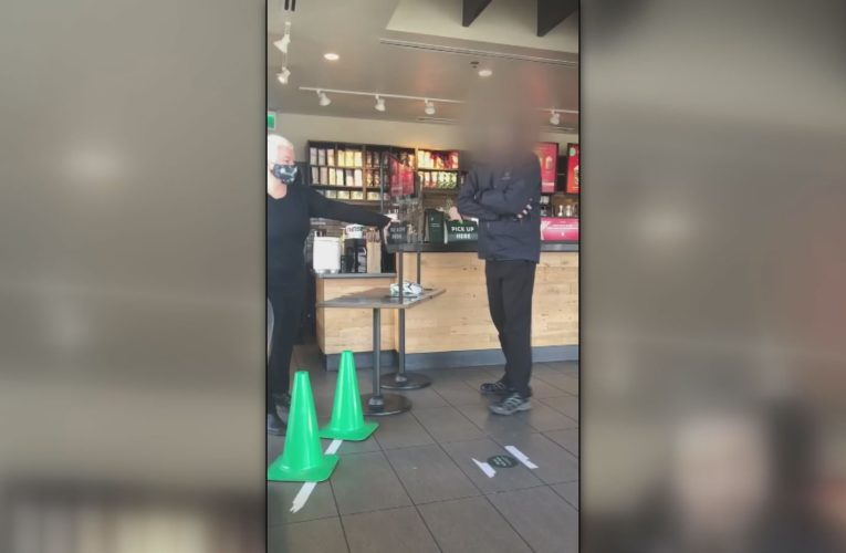 B.C. man in video of Starbucks confrontation fined twice for refusing to wear mask