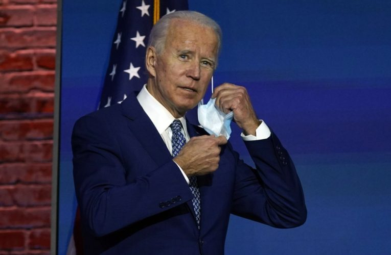 Biden to immediately ask Americans for 100 days of wearing masks after swearing-in