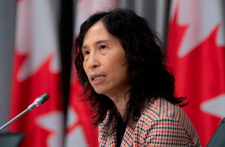 Canada hasn't yet identified any cases of new U.K. coronavirus variant, Tam says