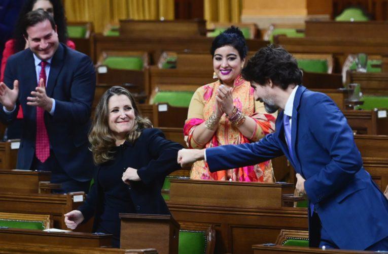 Liberals introduce coronavirus spending bill days after unveiling economic update