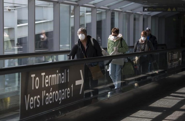 New coronavirus testing rules for travelers landing in Canada to start Jan. 7