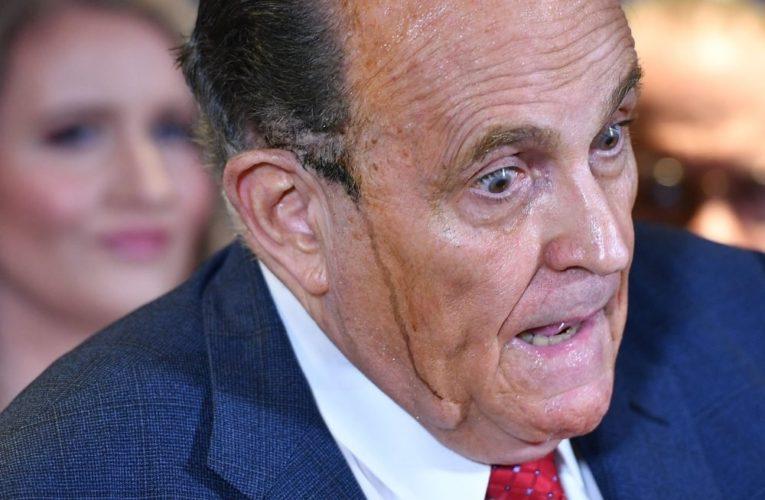 Rudy Giuliani positive for coronavirus, Trump says