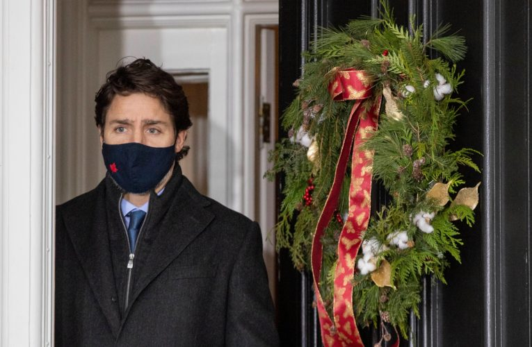Watch live: Trudeau to discuss coronavirus crisis in Canada, vaccine rollout
