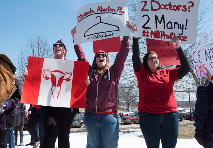Civil rights group sues New Brunswick over access to abortion