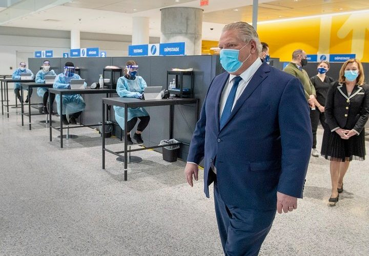 Ontario closer to requiring all arriving international travellers at Pearson airport to get coronavirus tests