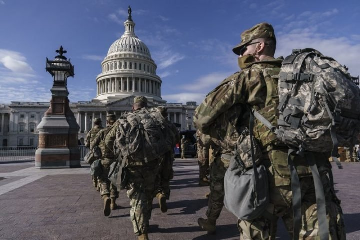 Over 150 National Guard at Biden's inauguration in Washington test positive for COVID-19