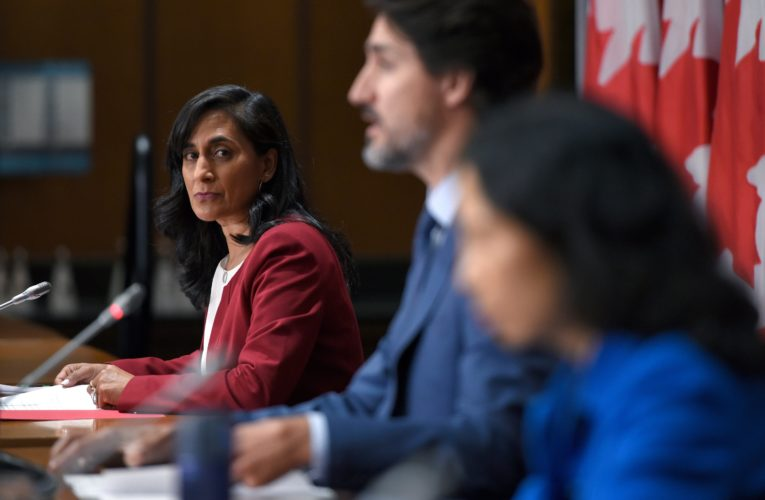 Canada contractually bound to keep COVID-19 vaccine contracts secret, Anand says
