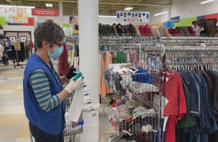 Donations triple at Salvation Army thrift stores as people purge during COVID-19 pandemic