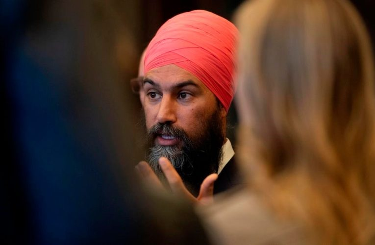 Federal NDP leader touts pledge on long-term care: 'We're losing loved ones'