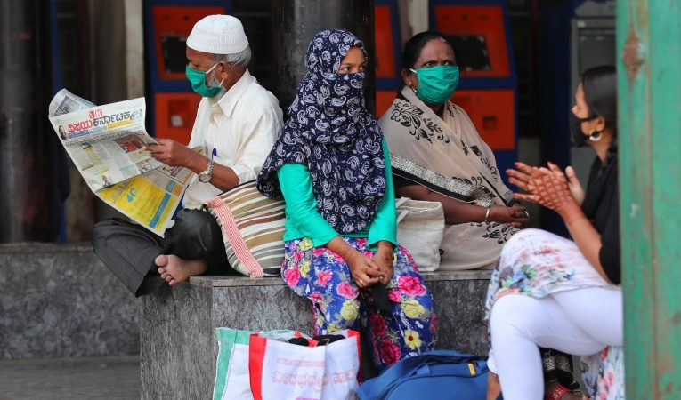 India says virus variants not behind spurt in cases