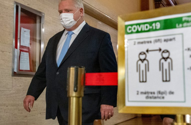 Ontario to announce decision on COVID-19 pandemic restrictions for hot spots
