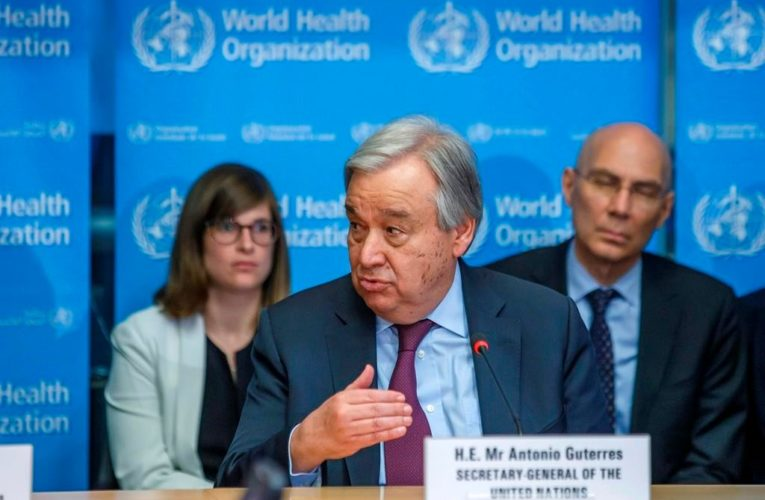 UN chief calls for global plan to overturn 'unfair' vaccine access
