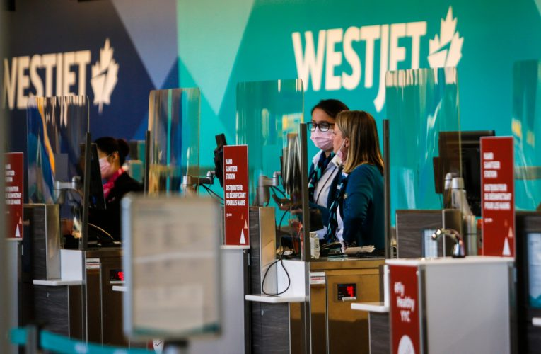WestJet to lay off 120 cabin crew members as of March 2, citing flight suspensions