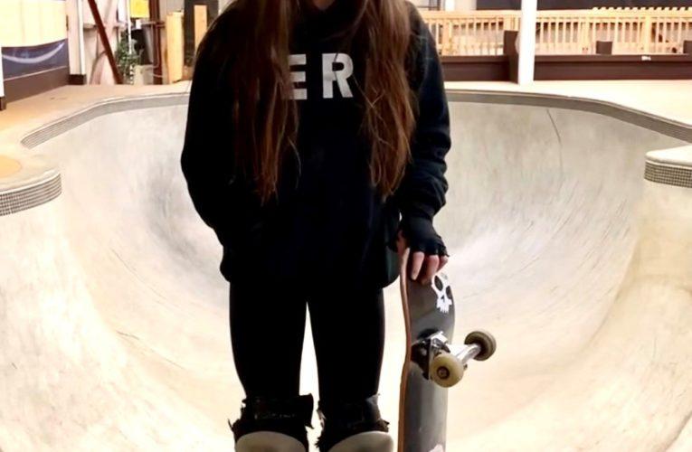 11-year-old on national skateboading team inspiring N.B. girls to hit the rails