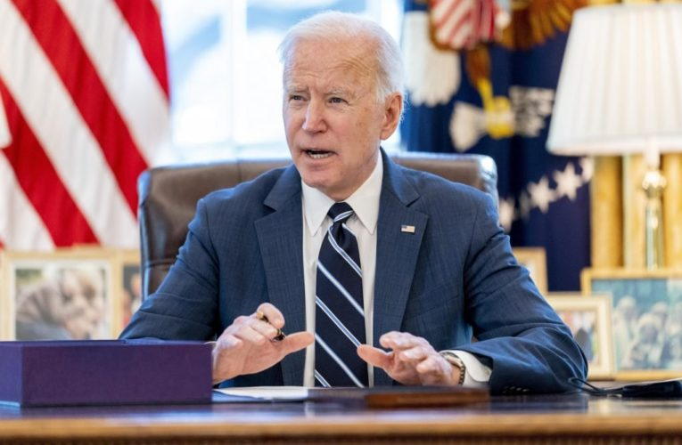 Biden marks anniversary of coronavirus pandemic by promising light at end of tunnel