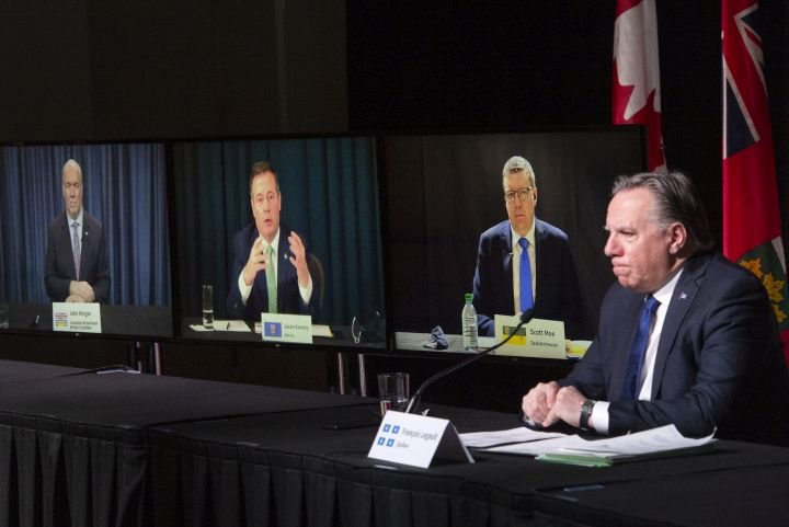 Canadian premiers blame Ottawa for delayed COVID-19 shots