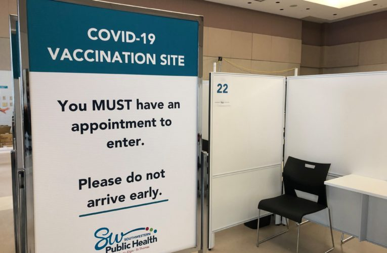 Health officials prepare COVID-19 vaccine clinics in Woodstock, St. Thomas
