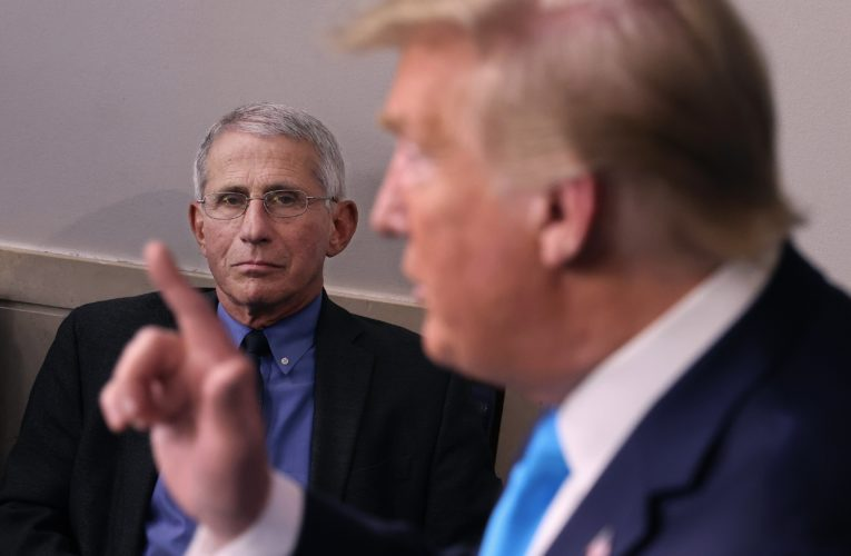 It would be 'very helpful' if Trump advised supporters to get COVID-19 vaccine: Fauci
