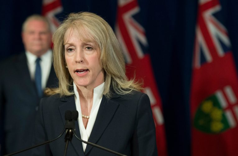 Ontario LTC minister says she didn't go public with COVID-19 concerns because she's no expert