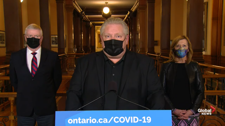 'We need the vaccines': Doug Ford says Ontario could administer 150K shots per day