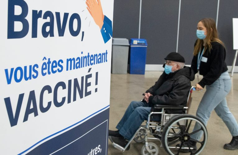 What you need to know as COVID-19 vaccination registration now available to Quebecers aged 70 and up