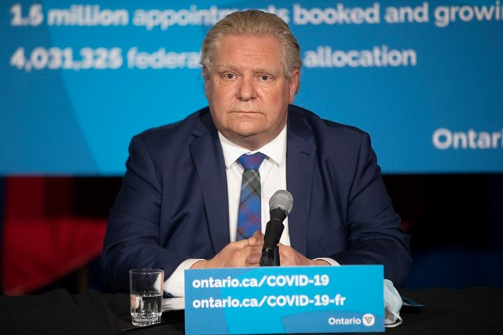 Amid pleas for Ontario paid sick day program, Doug Ford tells people to stop 'playing politics'