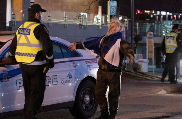 Anti-curfew protests lead to more arrests, tickets in Montreal and Quebec City