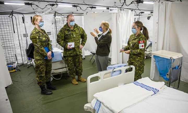 Canadian military's COVID-19 medical task force assuming duties at Toronto's Sunnybrook hospital