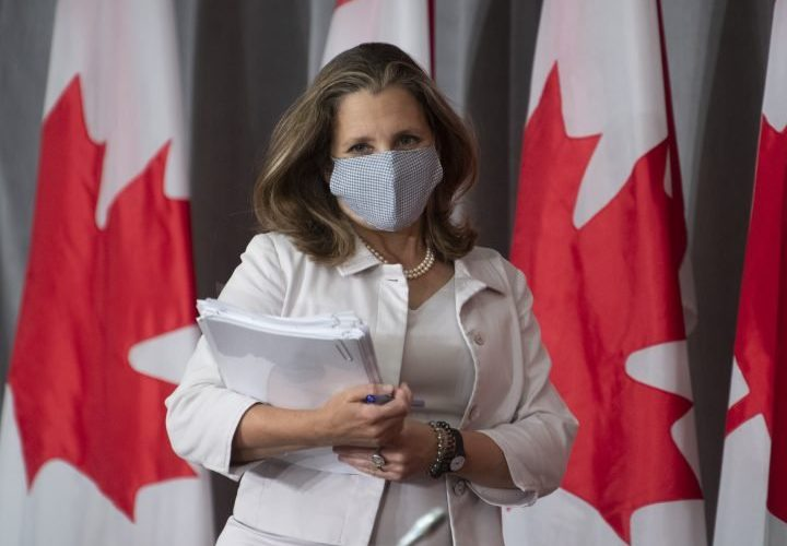 COVID-19 opened 'window of political opportunity' to implement national childcare: Freeland