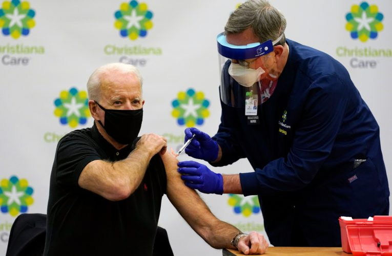 Meet the nurse from Montreal who vaccinated Joe Biden