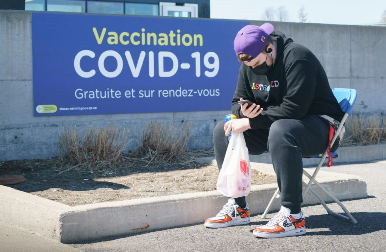 Quebec expands COVID-19 vaccination to those with chronic illnesses, disabilities