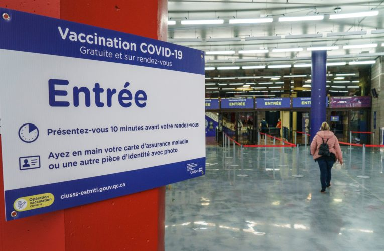 Quebec reports more than 1,200 new COVID-19 cases as third wave sets in