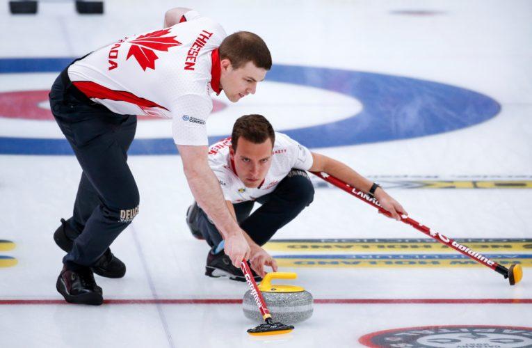 World men's curling championship positive COVID-19 tests deemed 'false positives'