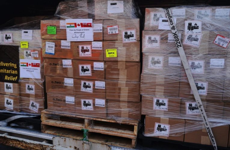 500 ventilators from Ontario arrive in India to help battle COVID-19 surge