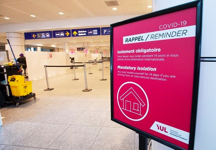 COVID-19: No tickets, charges issued in Quebec for travellers violating hotel quarantine order