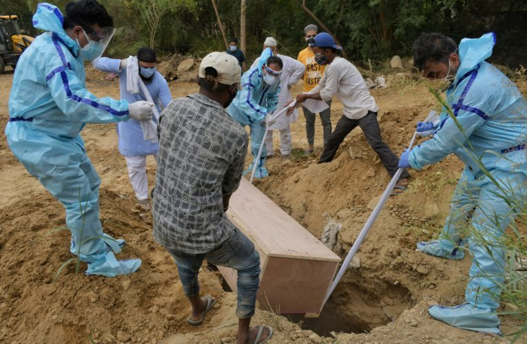 India reports nearly 3,800 COVID-19 deaths in single day, a new record amid crisis
