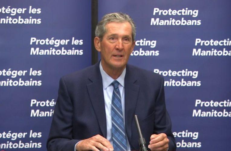 Premier announces doubling of enforcement fines, 5-day sick leave benefit for Manitoba