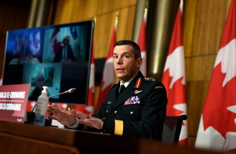 Public health agency head learned of Maj.-Gen. Dany Fortin 'issue' in late March